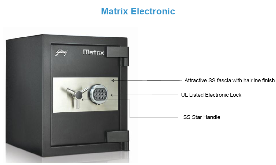 Krishna Technology Complete Security Solutions Matrix